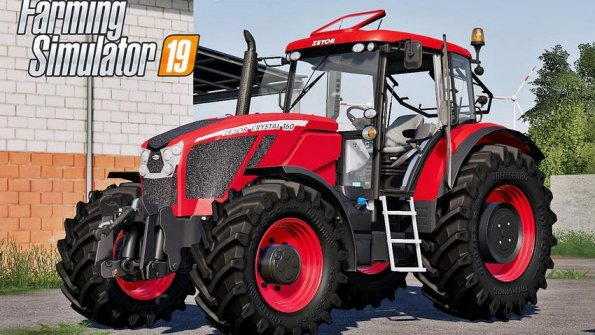 Мод «Zetor Crystal series» для Farming Simulator 2019