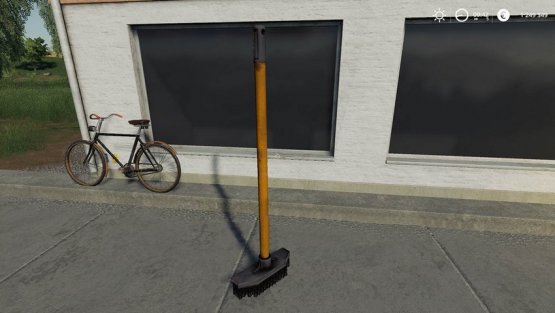Мод «Cleaning Broom» для Farming Simulator 2019