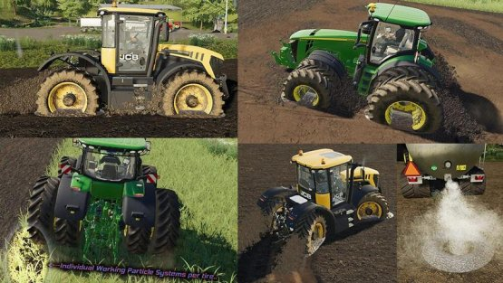 Мод «Real Mud» для Farming Simulator 2019