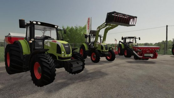 Мод «Claas Arion 600 (610, 620, 630, 640)» для Farming Simulator 2019