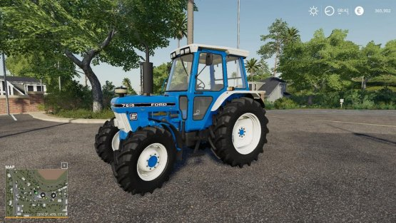 Мод «Ford 7610 Gen III» для Farming Simulator 2019