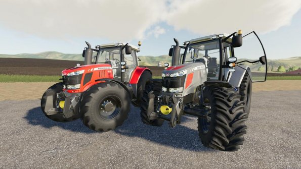Мод «Massey-Ferguson 6600» для Farming Simulator 2019