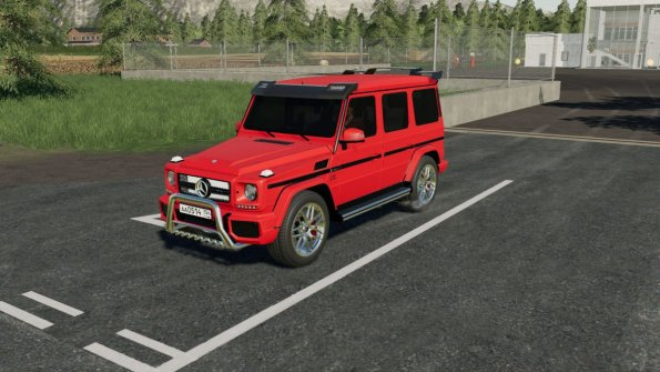 Мод «Mercedes-Benz G-65 AMG» для Farming Simulator 2019