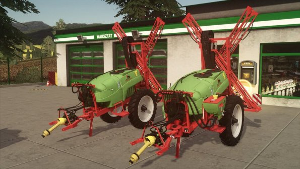 Мод «KFMR Krukowiak Apollo 1000/15/PHX» для Farming Simulator 2019