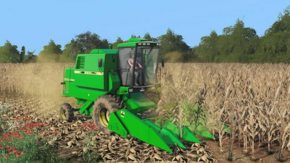 Мод «John Deere 6200, 213, 216 And 4209» для Farming Simulator 2019