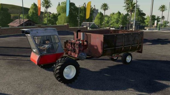 Мод «Нива самопал» для Farming Simulator 2019