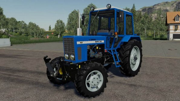 Мод «МТЗ 82 Экспорт» для Farming Simulator 2019
