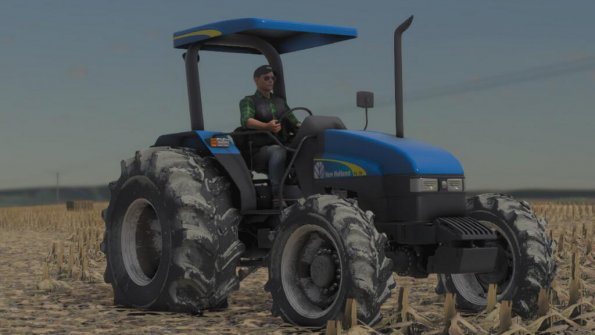 Мод «New Holland TL 75 Brazil» для Farming Simulator 2019