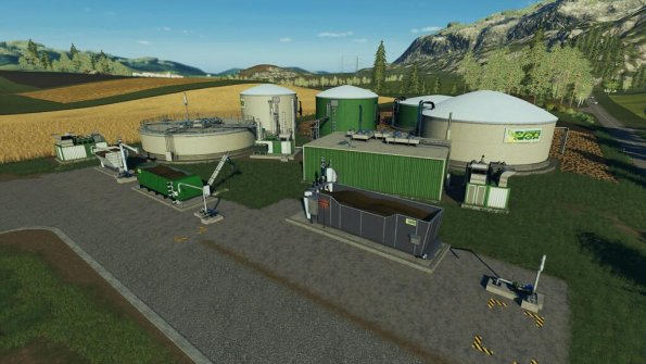 Мод «Modular BGA System» для Farming Simulator 2019