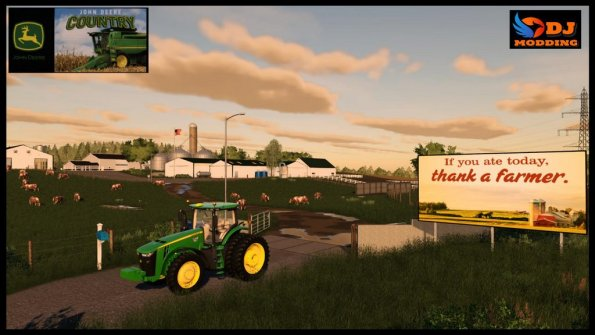 Карта «Deere Country, USA» для Farming Simulator 2019