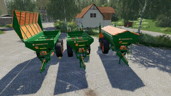 Мод «Amazone ZGB-XA» для Farming Simulator 2019