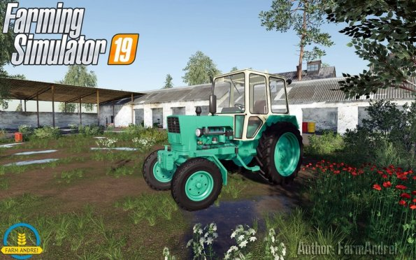 Мод «ЮМЗ-6 АКЛ» для Farming Simulator 2019