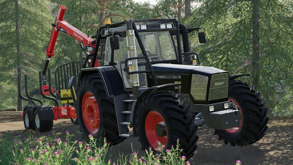 Мод «Fendt 900 Favorit Vario» для Farming Simulator 2019