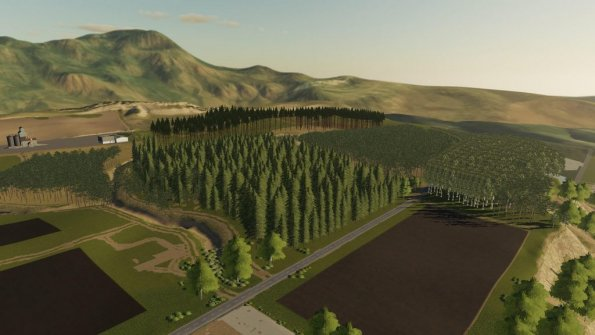 Карта «The Pacific Northwest Logging Edition» для Farming Simulator 2019
