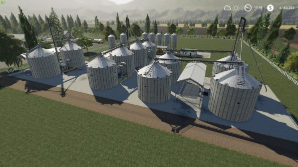 Мод «Placeable Silo's and Supplies» для Farming Simulator 2019