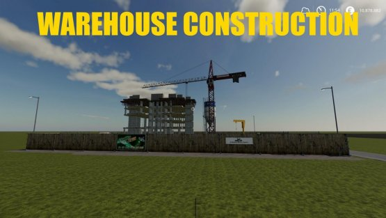 Мод «WareHouse Construction» для Farming Simulator 2019
