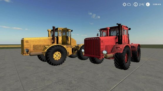 Мод «Кировец К-700 Горбатый» для Farming Simulator 2019