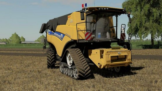 Мод «New Holland CR10.90 Revelation» для Farming Simulator 2019