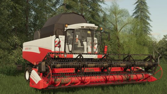 Мод «Rostselmash Acros 595» для Farming Simulator 2019
