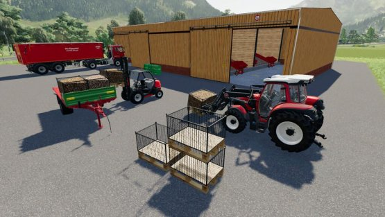 Мод «Root Crop Storage Silo» для Farming Simulator 2019