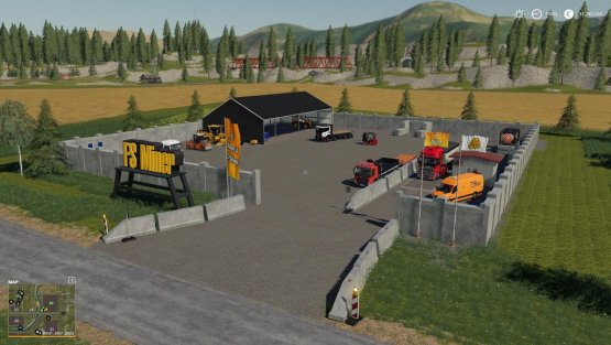 Мод «Mining And Construction Deco Pack» для Farming Simulator 2019