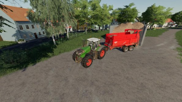 Мод «Sugarbeets Export» для Farming Simulator 2019