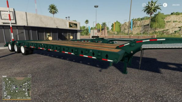 Мод «Lode King 50 Ton Lowboy set» для Farming Simulator 2019