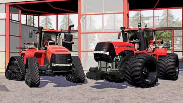Мод «Case IH AFS Connect Steiger Series» для Farming Simulator 2019