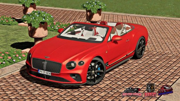 Мод «Bentley Continental GT Convertible Number 1 Edition» для Farming Simulator 2019