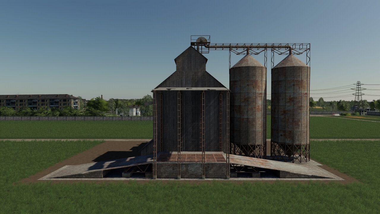 farming simulator 2019 моды элеватор