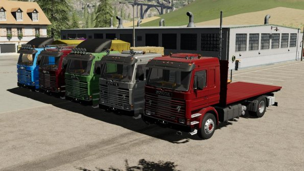 Мод «Scania 113H SideDoors» для Farming Simulator 2019