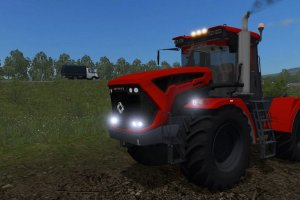 Мод трактор «Кировец К-7М» для Farming Simulator 2017 3