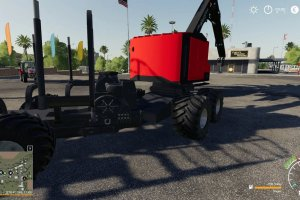 Мод «Timberpro Forwarder» для Farming Simulator 2019 3
