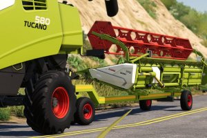 Мод «Header Trailers» для Farming Simulator 2019 3