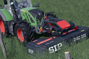 Мод «SIP SilverCut Disc 300 F S-FLOW» для Farming Simulator 2019 4